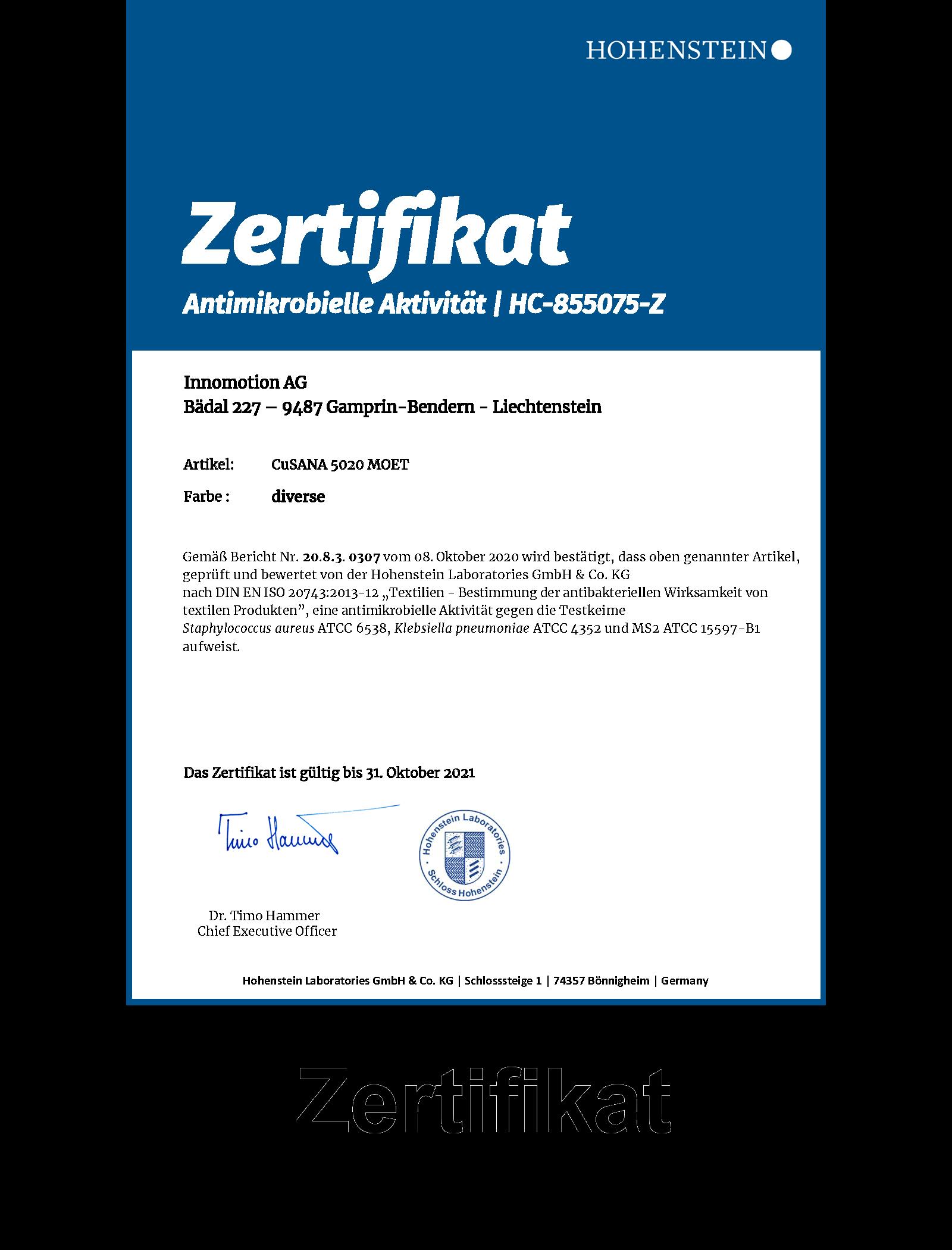 HC-855075-Zertifikat-Antimikrobiell